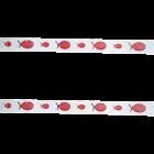 Декоративна лента - калинки