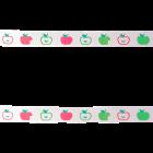 Декоративна лента - ябълки