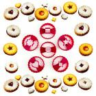 Резци за бисквити с пълнеж - 6 форми