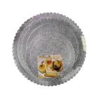Комплект подложки за торти - сребристи