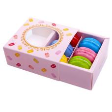 Аксесоари за украса - Декоративна кутия за 6 бр. макарони