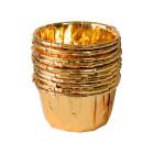 Кофички за мъфини - златни фолирани 25 бр.