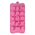 Силикон за шоколадови бонбони - бебешки артикули