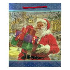 Аксесоари за украса - Коледнa хартиена торбичкa - Коледа #04