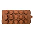 Силикон за шоколадови бонбони - анимирани животни