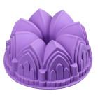 Силиконова форма за кекс - 3D замък