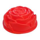 Силиконова форма за печене - роза