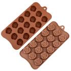 Силикон за шоколадови бонбони - рози
