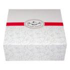 Картонена кутия за сладкиши 20х20х8 см