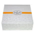Картонена кутия за сладкиши 22х22х8 см