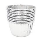 Кофички за мъфини - сребърни фолирани 25 бр.