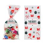 Декоративни торбички OEM - Merry Christmas 10 бр.