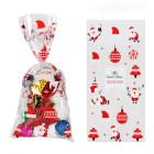 Декоративни торбички OEM - Santa 10 бр.