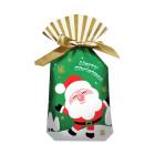 Декоративна торбичка с панделка OEM - Santa