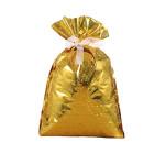 Декоративна торбичка с панделка OEM - Gold Sparkles