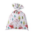 Декоративна торбичка с панделка OEM - Christmas Landscape