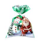 Декоративна торбичка с панделка OEM - Christmas Frienship