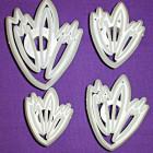 Дантелени щампи с форма на листа