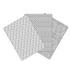 Текстурни платна - сърца, кожа, тухла 17.5 х 12 см
