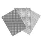 Текстурни платна - пчелна пита, каре, вълна 17.5х12 см