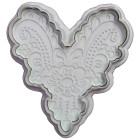 Комплект щампи - декоративно сърчице