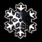 Текстурен борд - снежинка