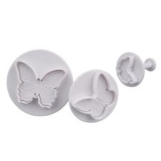 Комплект щампи Patidess - пеперуди