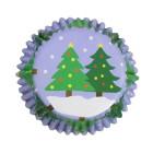 Фолирани форми за мъфини - Christmas Tree