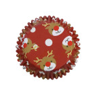 Фолирани форми за мъфини - Christmas Reindeer