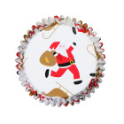 Фолирани форми за мъфини - Christmas Santa Sleigh