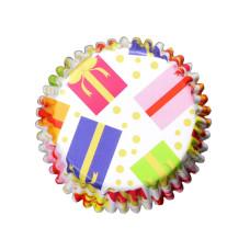 Мъфини и торти - Фолирани форми за мъфини - Christmas Present