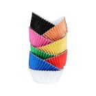 Форми за мъфини фолирани - разноцветни металик