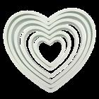 Комплект резци - сърце