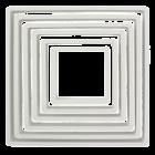 Комплект резци PME - квадрати