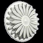 Щампа с форма на маргаритка - 70 мм