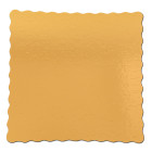 Квадратни подложки златни 30х30 см 5 бр.