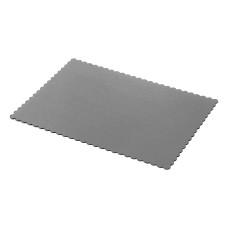 Правоъгълни подложки сребърни 30х40 см 5 бр.