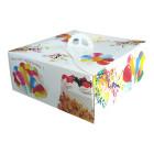 Кутии за торта цветни - 25X25X13 см 5 бр.