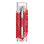 Декоративна писалка - червена