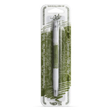 Декоративна писалка - бръшляново зелен