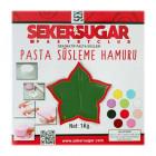 Захарно тесто SekerSugar - тъмно зелено 1 кг
