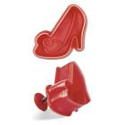Щампа с форма на дамска обувка