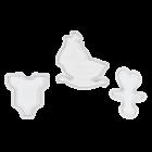 Комплект щампи - бебешки фигури
