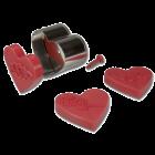 Щампа с форма на сърце и накрайници
