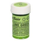 Сладкарска боя - гел - LIME GREEN