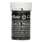 Сладкарска боя - перлен гел - Satin MAGIC BLACK