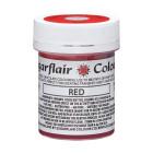Маслен оцветител за рисуване Sugarflair - червена