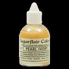 Оцветители и есенции - Перлен оцветител - Sugarflair Airbrush - Pearl Ivory