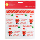 Декоративни торбички  - Holly Jolly 20 бр.