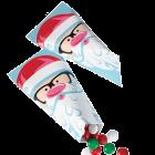 Декоративни торбички - Дядо Коледа #3